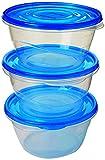 Sistema Frischhaltedosen, transparent/blau, 1,4l