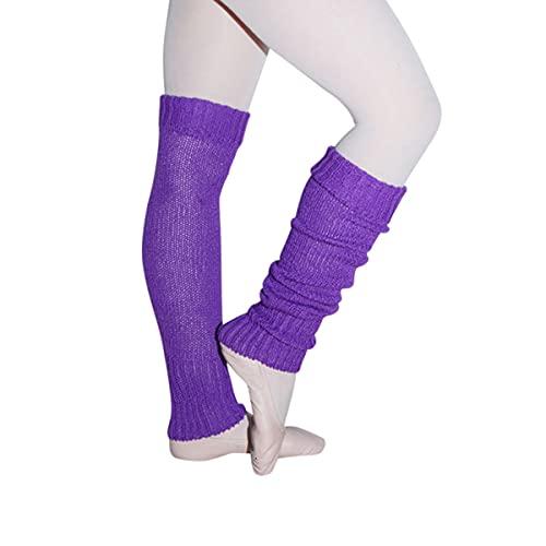 Intermezzo Leg-Warmers 2040 Cordan - Calentador de piernas para mujer (talla única), color morado