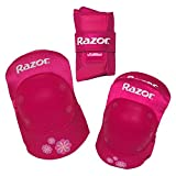 Razor Padset Sweet Pea with Wristguards, Pink