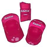 Razor Padset Sweet Pea with Wristguards, Pink