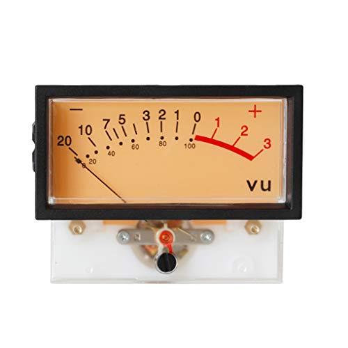 Kongnijiwa De Alta precisión de VU amperímetro Duradero DB medidor de Potencia Plana Alta Meter Power Mixer medidor de luz de Fondo Gauge