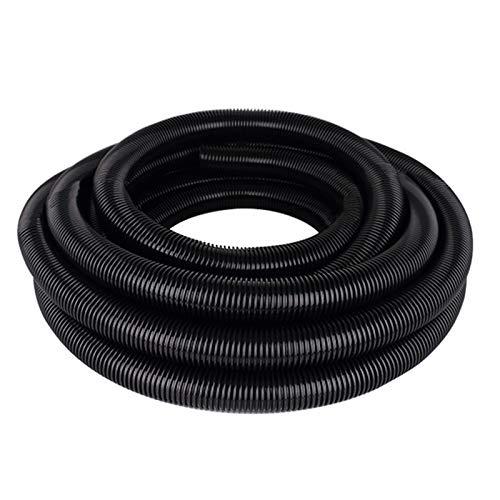 Morran Manguera Piscina Negracon Manguitos 25mm 1/2/3/4/5 Metre Tubo Plástico Piscina Fabricado (negro, D)