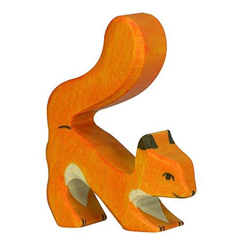 Holztiger Eichhörnchen, orange, 80105