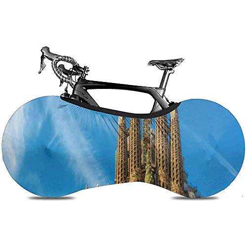 L.BAN Cubierta de la Rueda de Bicicleta, Protect Gear Tire Cubierta de la Bicicleta - Barcelona España 24 de septiembre Catedral de la Sagrada Familia Está diseñado