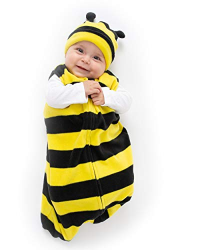 Cuddle Club Sacco Nanna in Pile per Bebè – Copertina Neonato indossabile – BeeWBXL