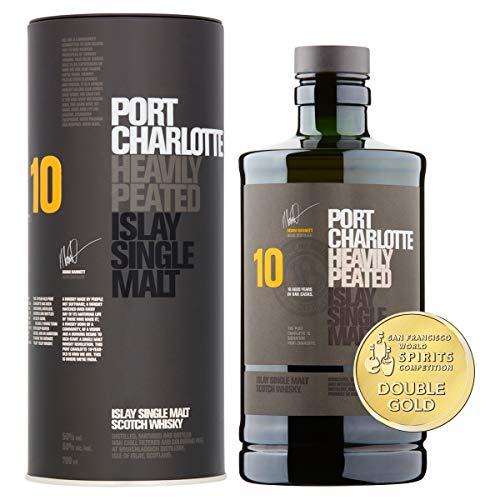 classement un comparer Whisky single malt Bruichladdich Port Charlotte 10 ans Islay