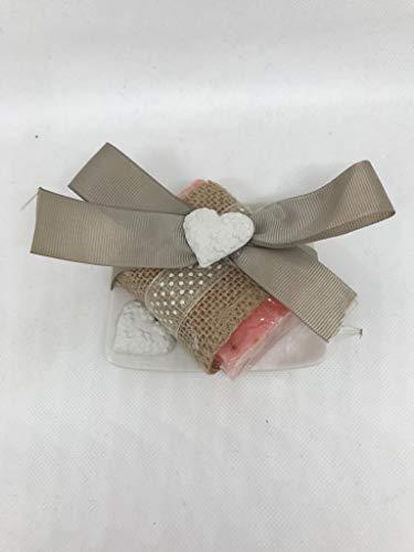 Dr. Taffi - « Idée cadeau » Boîte à bijoux parfumée avec savon Bio&Vegan mod. Passion
