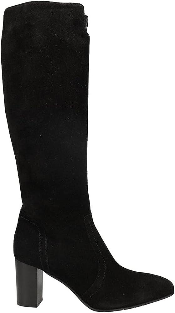 AQUATALIA Womens Florie Suede Tall Zippered Dress Boots Knee High Mid Heel 2-3