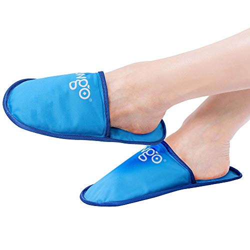 Foot Cold Therapy Gel Ice Pack for Feet, Achilles Tendonitis, Arthritis, Plantar Fasciitis - 2Pack