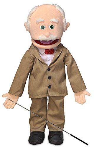 "25"" Pops, Peach Grandfather, Full Body, Ventriloquist Style Puppet"