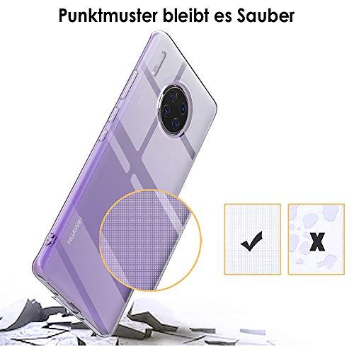 Beetop Huawei Mate 30 Pro Hülle Schutzhülle Ultradünn Handyhülle Transparent Weiche Silikon TPU Rückschale Case Cover Für Huawei Mate 30 Pro - Durchsichtig - 6