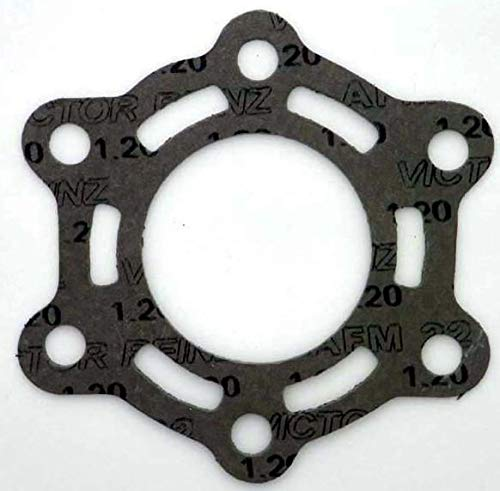 Rareelectrical NEW EXHAUST PIPE GASKET COMPATIBLE WITH TIGER SHARK JET SKI 640 MONTE CARLO 94-97 3008-385