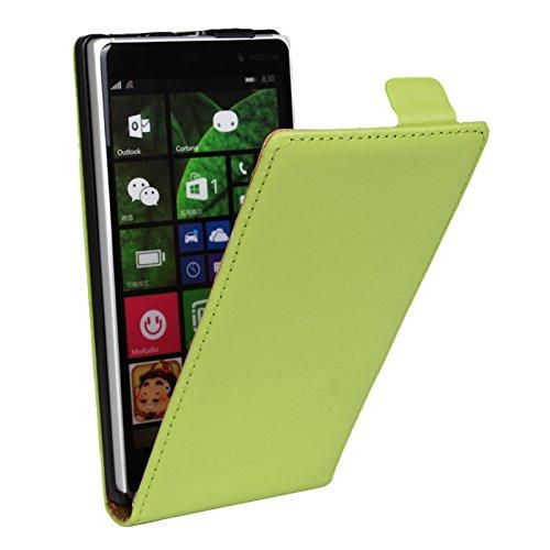 EximMobile Flipcase Handytasche Etui Tasche für Nokia Lumia 1520 Grün