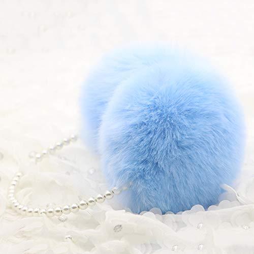 Perle Winter Ohrenschützer Frauen Fell Ohrenschützer Ohrenwärmer Mädchen Imitation Kaninchen Plüsch Warme Ohrenschützer Ohr Haarschmuck,C