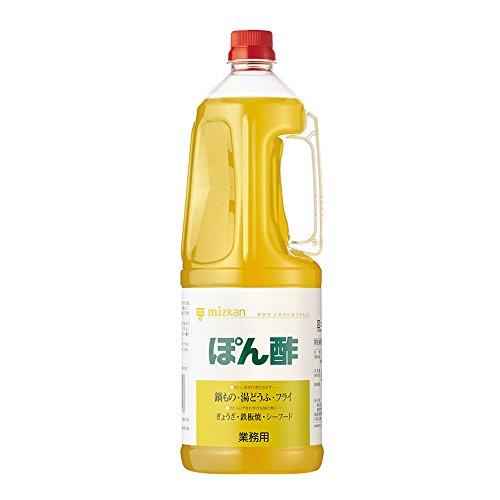 【常温】 ミツカン ぽん酢 1.8L 業務用 ポン酢