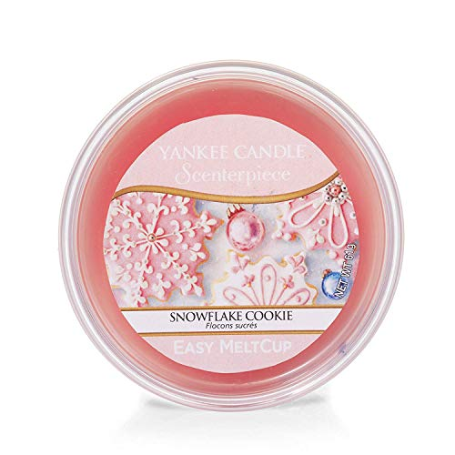 "Yankee Candle ""Snowflake Cookie"" Scenterpiece MeltCups, pink"