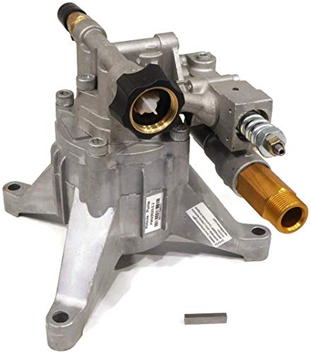 The ROP Shop 7/8' Shaft, Aluminum Head, Vertical Pump Replacement for Pressure Washer with 2800 PSI and 2.3 GPM, Includes Keyway