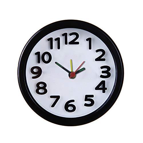 Universal Retro Wekker, Mooie Quartz Uurwerk Ronde Klok Bed Woondecoratie Draagbare Reizen Wekker