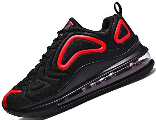 SINOES 91-23 Herren Sneaker Laufschuhe Sportschuhe Atmungsaktiv Gemütlich Mesh Freizeitschuhe Luftkissenschuhe Schnürschuhe Low-Top Schuhe