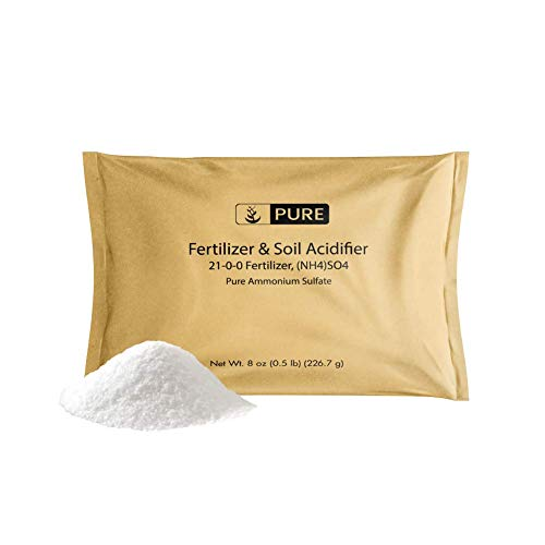 Pure Ammonium Sulfate (8 oz.), Eco-Friendly Packaging, Fertilizer &...