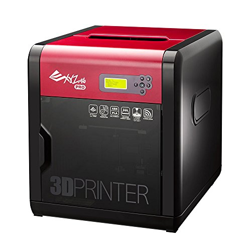 XYZ Printing da Vinci 1.0 Pro 3D printer, Open Filament, 300g ABS filament, maintenance tools, modelling software, and video tutorials, Upgradable Laser Engraver, 20x20x20cm Built Vol.