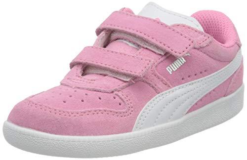 Puma Unisex Baby ICRA Trainer SD V INF Sneaker, Sachet Pink White Silver, 26 EU