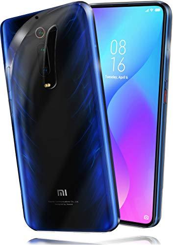 moex Aero Hülle kompatibel mit Xiaomi Mi 9T / Mi 9T Pro - Hülle aus Silikon, komplett transparent, Klarsicht Handy Schutzhülle Ultra dünn, Handyhülle durchsichtig einfarbig, Klar