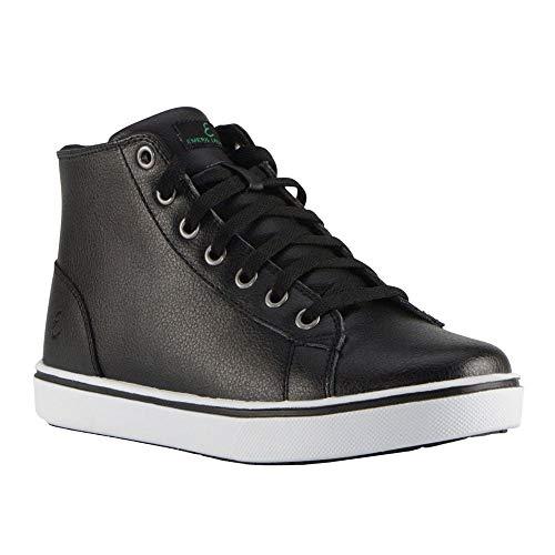 Emeril Lagasse womens Read Slip-resistant Work Food Service Shoe, Black/White, 9.5 US
