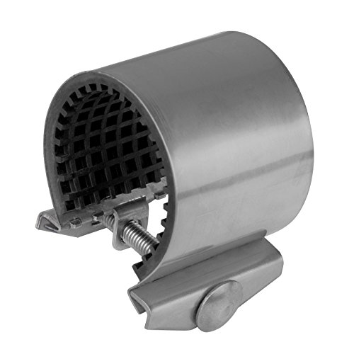 Gebo Edelstahldichtband Durchmesser: 26-30 mm Rohrgröße: 3/4 Zoll Edelstahl Dichtband   Dichtschelle   Reparaturschelle   Dichtungsschelle für Wasserleitungen