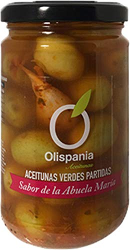 Aceituna Receta de Abuela Olispania P.neto 300 gr. 3 botes.