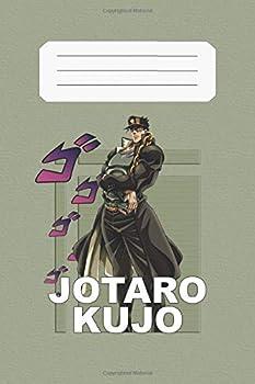 Jotaro Kujo  JoJo s Bizarre Adventure Jotaro 112 Lined Pages 6 x 9 in Anime Notebook Diamond