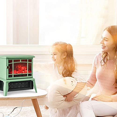 ZHUFU Electric Fireplace?1500W Electric Canterbury Fireplace Suite With Adjustable Thermostat Control, Safety Cut-Out System Realistic LED Flame Effect