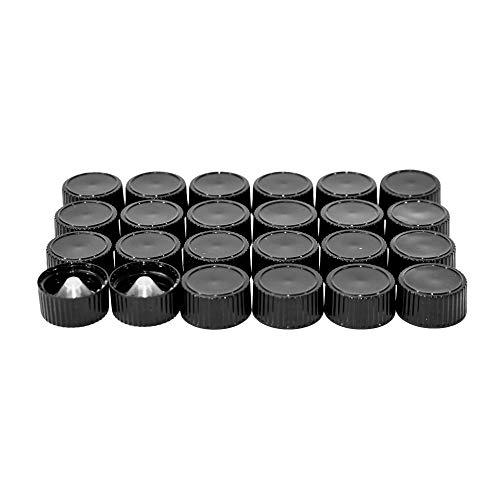 YMLAB Penny Head Glass Stopper Lab Caps 24//40 5PCS