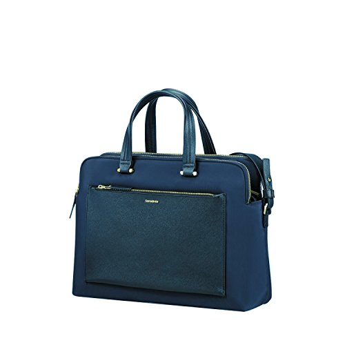 Samsonite Organized Bailhandle14.1 (Dark Blue) -Zalia  Koffer, Dark Blue