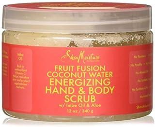 Shea Moisture Fruit Fusion Coconut Water Energizing Hand & Body Scrub   12 Ounce