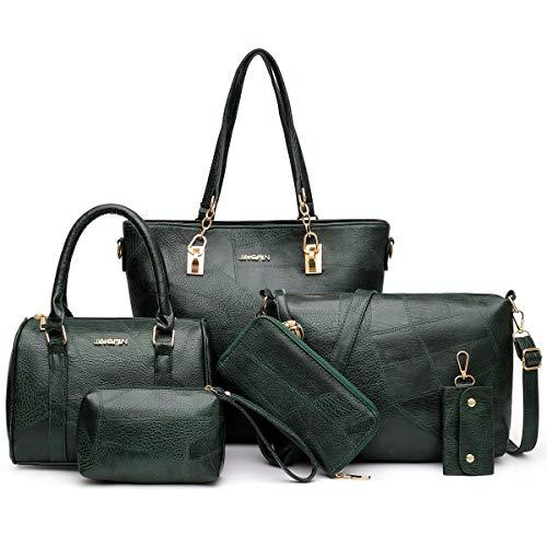 Bolsas e bolsas de mão femininas de designer, 5D - Verde escuro