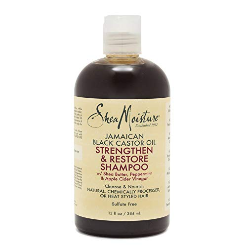 13-Oz SheaMoisture Jamaican Black Castor Oil Shampoo 2 for $7.55 ($3.78 each) & More w/ S&S + Free Shipping w/ Prime or on $25+
