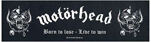 Motörhead Teppichläufer Born to lose -  Live to win