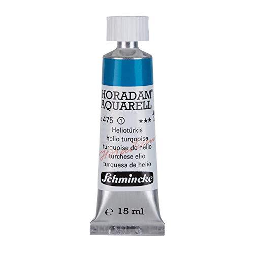 Schmincke Horadam Watercolor 15 ml Tube - Helio Turquoise