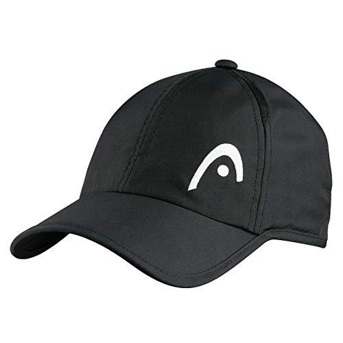 HEAD Unisex-Erwachsene Pro Player Cap, Black, Einheitsgröße