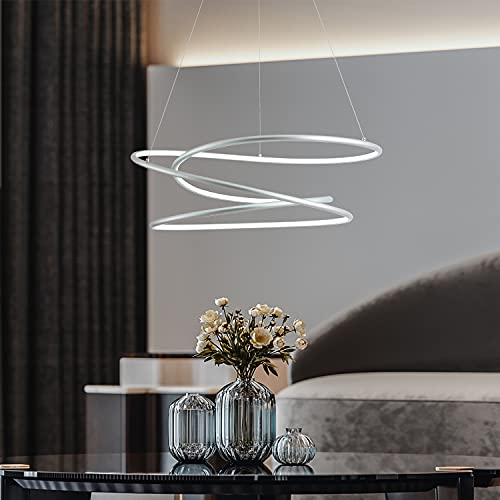 MADEM Modern LED Pendant Light Dimmable Contemporary...
