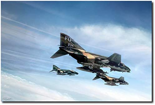 Phantom Strike Force by Mail order Peter F-4 - Aviation Chilelli New Orleans Mall