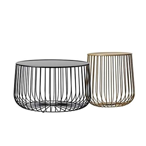 WFHhsxfh Nordic Tea Table Metalen Meubilair Woonkamer Pompoen Koffietafel Moderne Minimalistische Bijzettafel Meubilair
