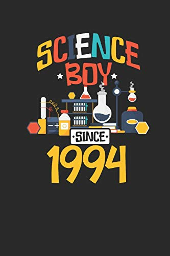 Science Boy Since 1994: Dotted Bullet Notebook – Scientist , Student And Teacher Gift Idea