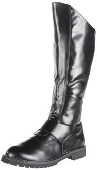 Funtasma by Pleaser Men s Halloween Gotham-100 Boot,Black Polyurethane,S  US Men s 8-9 M