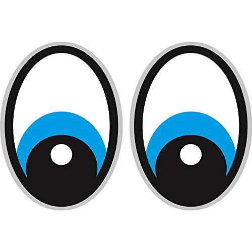 Augen Blau Saugroboter,Aufkleber,Staubsauger Roboter,Sticker,Eye,Stickers,Yeux Rasenmäher Mähroboter