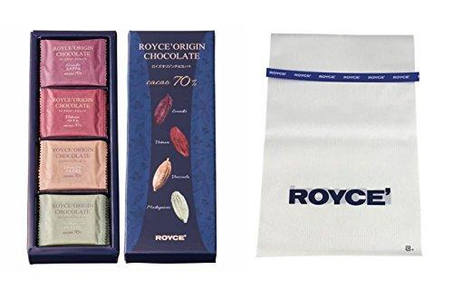 【ROYCE'】 オリジンチョコレート ギフト袋 ロイズ 青ビニタイ付き【北海道・期間数量限定】