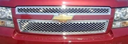 Amazon.com: OC Parts Chevy Suburban Chrome Front Grille ...