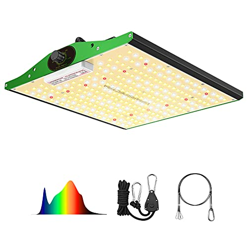 LED Grow Light, VIPARSPECTRA Newest P1000 Full Spectrum LED Grow Light for Indoor Plants, High PPFD Dimmable Grow Lights 2x2ft Coverage for Hydroponic Indoor Plants Veg and Bloom Plant Growing Lamps