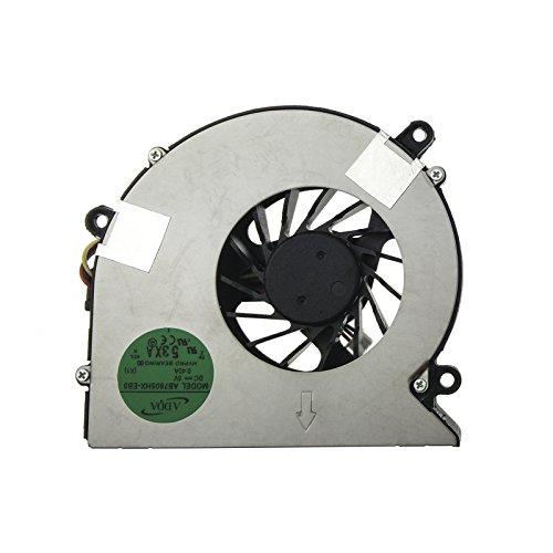 Ventilador Acer - 23.AHE02.001 compatible con Acer Aspire 5310 | 5315 | 5320 | 5710 | 5710G | 5710Z | 5710ZG | 5715Z | 5720 | 5720G | 5720Z | 5720ZG | 7720G | 7720Z | 7720ZG | eMachines E Series E510 y part number AB7805HX-EB3 | GB0507PGV1-A